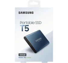 Samsung T5 Portable SSD 500GB USB 3.1 Gen 2 External SSD Read 540MB/s MU-PA500B