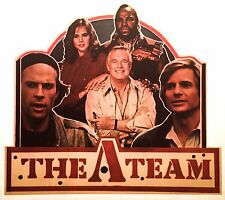80's A-Team Ateam Mr.T Mr T He-Man gi joe g.i. motu Tv Show VTG t-shirt iron-on