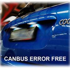 * MINI COOPER S Xenon Bianco LED Targa Lampadine privo di errori