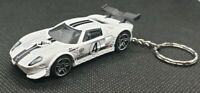 Hot wheels FORD GT gran turismo keyring diecast car