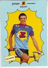 CYCLISME carte cycliste SERGE DEMIERRE équipe Z  peugeot 1987