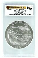 2017 P Effigy Mounds National Park 5oz Silver Coin PCGS SP70 First Day Issue