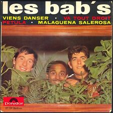 LES BAB'S RARE 45T EP POP CORN VIENS DANSER POLYDOR 27.159 FRENCH GROUP 60's