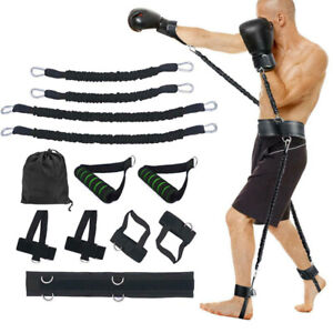 Boxing Sports Fitness Resistance Bands Set Bouncing Strength Training Equipment