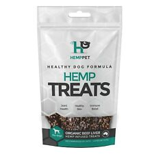 Dog Treats - HempPet - Hemp Infused Organic Beef Liver