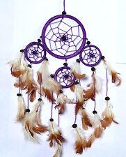 Attrape Rêve Capteur de Rêves Dreamcatcher Dream Catcher Attrapeur violet purple