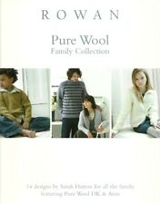 Rowan Pure Wool Family Collection - 14 Designs by Sarah Hatton