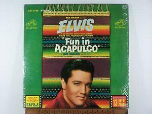 Elvis Presley Fun in Acapulco 1963 RCA LSP 2756 w/shrink NM