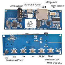 Wireless Audio Receiver Digital Bluetooth Board Amplifier DIY Stereo Speaker BBU