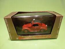 BRUMM R24 FIAT 500C TOPOLINO - SERVIZIO PREVENZIONE - RED 1:43 - VG IN BOX