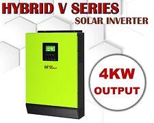 4000w 48vdc Hybrid Solar inverter 230vac grid tid + off grid PV input 145vdc