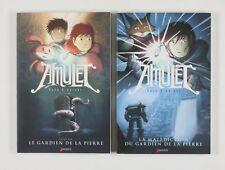 BD prix réduit Amulet Amulet - Tome 1 + 2 (Le Gardien de la Pierre + La malédict