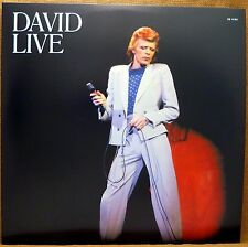 NEW AUDIOPHILE 180 GRAM 3 LP DAVID BOWIE, DAVID LIVE 2010 MIX, WHO CAN I BE NOW?