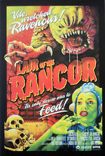STAR WARS REPRO FILM MOVIE POSTER . LAIR OF THE RANCOR . NOT DVD
