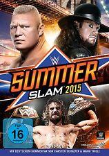 DVD *  WWE - SUMMERSLAM 2015  # NEU OVP &
