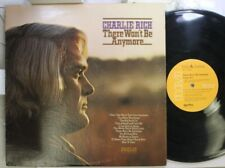 Country Lp Charlie Rich There Won'T Be Anymore On Rca