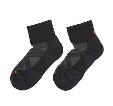 Smartwool Unisex Adults PhD Run Light Elite Mini Socks in Black 10606 Size M