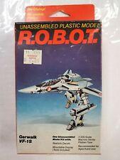 Testors ROBOT 1/200 Macross Gerwalk VF-1S Model Kit, NEW SEALED MINT IN THE BOX