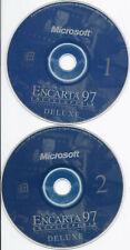 Microsoft Deluxe Encarta 97 Encyclopedia 2 Cds