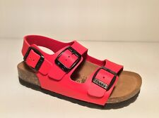 GRUNLAND LUCE SB0016 24/36 col rosso sandali bambino birk fibbie