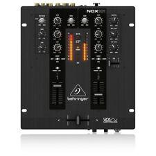 Behringer NOX101 DJ Mixer Professionale a 2 Canali con Crossfader VCA Ultraglide