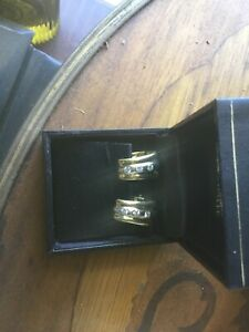 Absolutely Beautiful 18ct Gold and Diamond Earrings REDUCED!!!