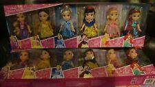 Disney Petite Princess Gift Set Rapunzel Belle Cinderella Ariel Aurora Snow Whi