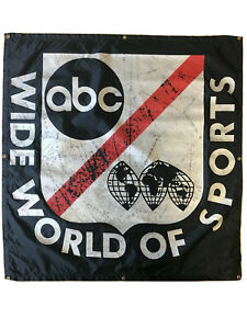 ABC Wide World of Sports Banner - 47 1/2 x 45in