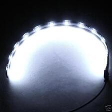 Bande flexible lumineuse blanche a LED autocollant 12v
