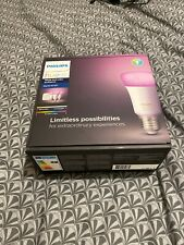 Philips Hue White and Colour Ambiance Starter Kit Smart Bulb 3x Pack LED E27