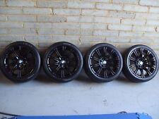 """BMW Genuine MV2 Alloy Wheels 18"""" E36 E46 E90 E92: Gloss Black M3 MV3 MV1"""
