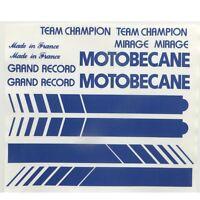 Motobecane full set of decals vintage #2