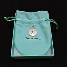 Tiffany & Co 925 MD Round TCO Lock Charm, BNIB, RETIRED