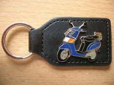Schlüsselanhänger Piaggio Vespa Sfera blau Roller Scooter 0300 Portachiavi