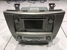 TOYOTA Camry Aurion GENUINE 6 CD MP3 PLAYER BLUETOOTH AUDIO Support Rev Camera