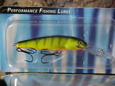 Salmo Floating Deep Minnow M7SDR-HP in HOT PERCH for Bass/Trout/Perch/Walleye