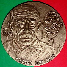 SPANISH PAINTER / PICASSO / GUERNICA / SPAIN CIVIL WAR / BRONZE MEDAL