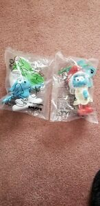 2016 Smurfs The Lost Village Burger King Kids Club Meal Lot Of 2 Figures