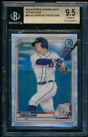 BGS 9.5 SPENCER TORKELSON 1st 2020 Bowman Chrome Draft REFRACTOR RC GEM MINT