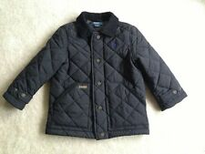 Ralph Lauren Polo Boys Black Quilted Jacket- Size 4