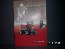 NEUSON 9503 MOBIL BAGGER PROSPEKT/BROSCHÜRE 18 Seiten  ALT&RAR