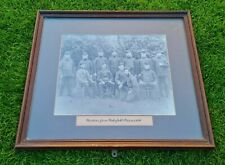 More details for wardens from wakefield prison 1880 framed photograph - crime - unusual