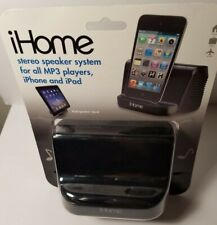 *NEW* iHOME STEREO SPEAKERS SYSTEM FOR ALL MP3 PLAYERS' iPHONE/iPAd iHM16