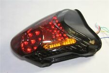 Led Tail Light Brake Turn Signal For 2008-2012 Suzuki Hayabusa / GSX1300R Smoke
