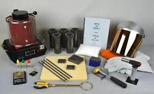 1 Kg Gold Melting Furnace Complete Starting Kit Melt Gold Silver Pour Test Stamp