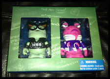 "2013 Disney D23 Expo MONSTER HIGH UNIVERSITY 3"" VINYLMATION LE Set RARE!"
