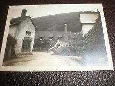 Old photograph Allerford Village Exmoor Somerset c1925