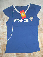 Tee shirt fille style débardeur en 14 ans marque DUARIG best of football FRANCE