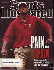 Sports Illustrated 1997 Ryder Cup in Spain Tiger Woods