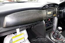 Toyota GT86 86 FT86 SCION FR-S FRS SUBARU BRZ carbon fiber dash board cover -RHD